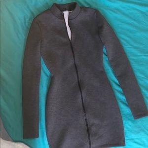 Fashion nova Middle Zipper Dress